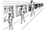 Три мужские фигурыабсолютно одинаковы по высоте.  Лютенс Ф. Организационное поведение, С. 110.