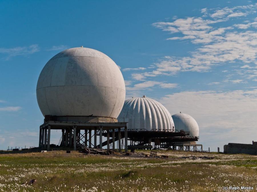 Радиопрозрачные укрытия для радиолокационных станций.