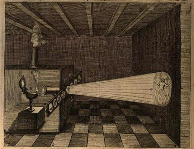 Прототип Кирхера, 1671г.