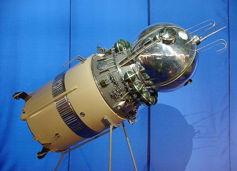 """""""Восток"""" былпервойвСоветском Союзепилотируемой космической капсулой.  Первымпилотируемым космическим полетомна """"Восток-1"""" стал полет космонавтаЮрия Гагарина, совершенный12 апреля 1961года."""
