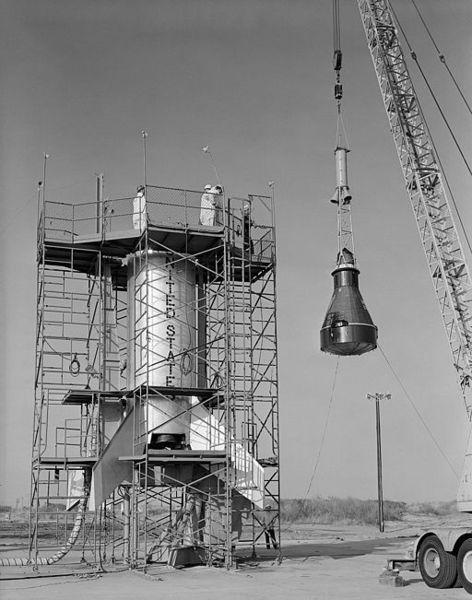 Капсула проекта «Меркурий», который был первойпрограммойкосмических полетов человекав Соединенных Штатах, которая осуществлялась с 1958 по 1963 год.