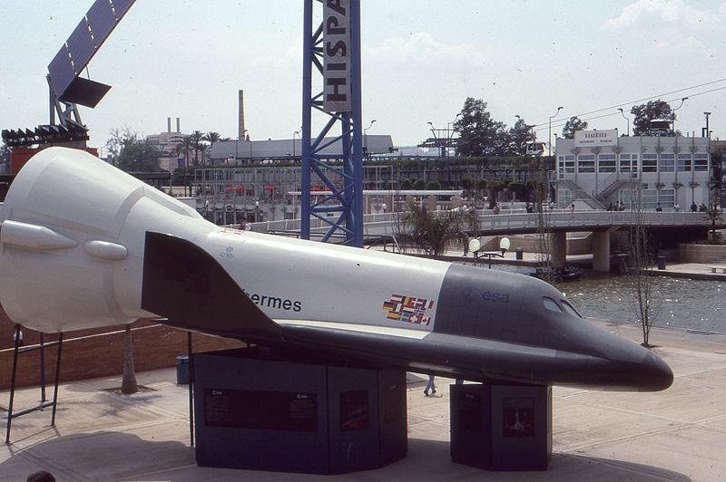 Разрабатывавшийся, но не летавший пилотируемый спускаемый аппарат космический самолёт «Гермес» (ЕКА, 1970—80-е гг.)