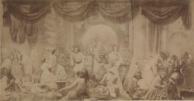 Оскар Густав Рейландер (Oscar Gustav Rejlander). «Два пути жизни». 1857