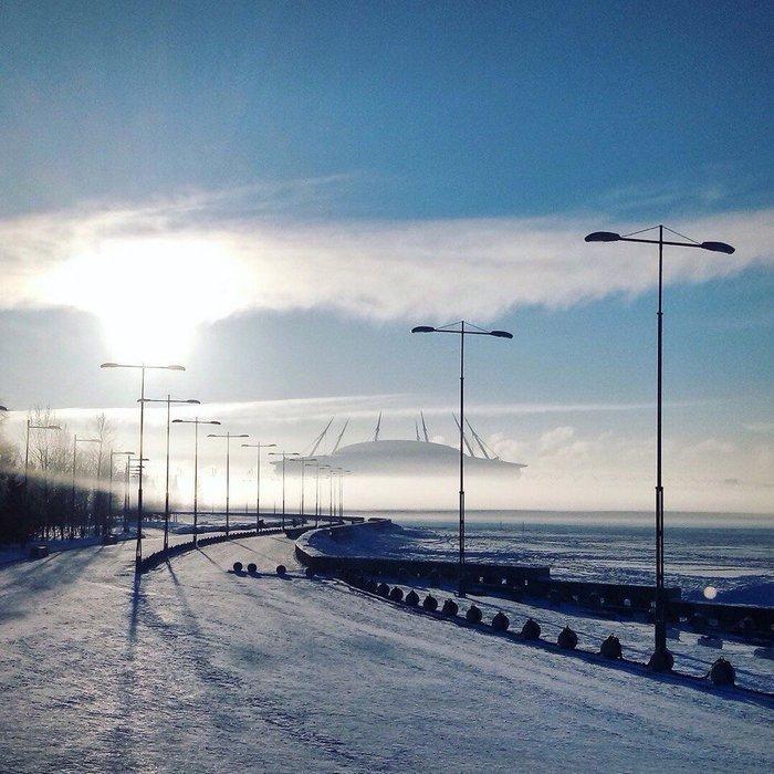 Стадион «Зенит-арена». Санкт-Петербург