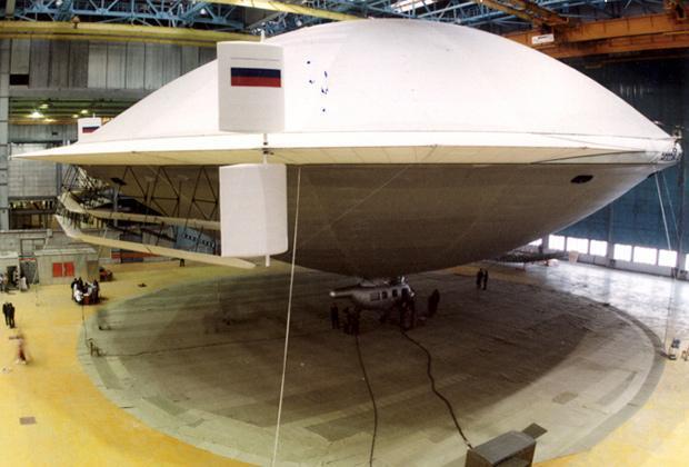 Дирижабль «Термоплан»