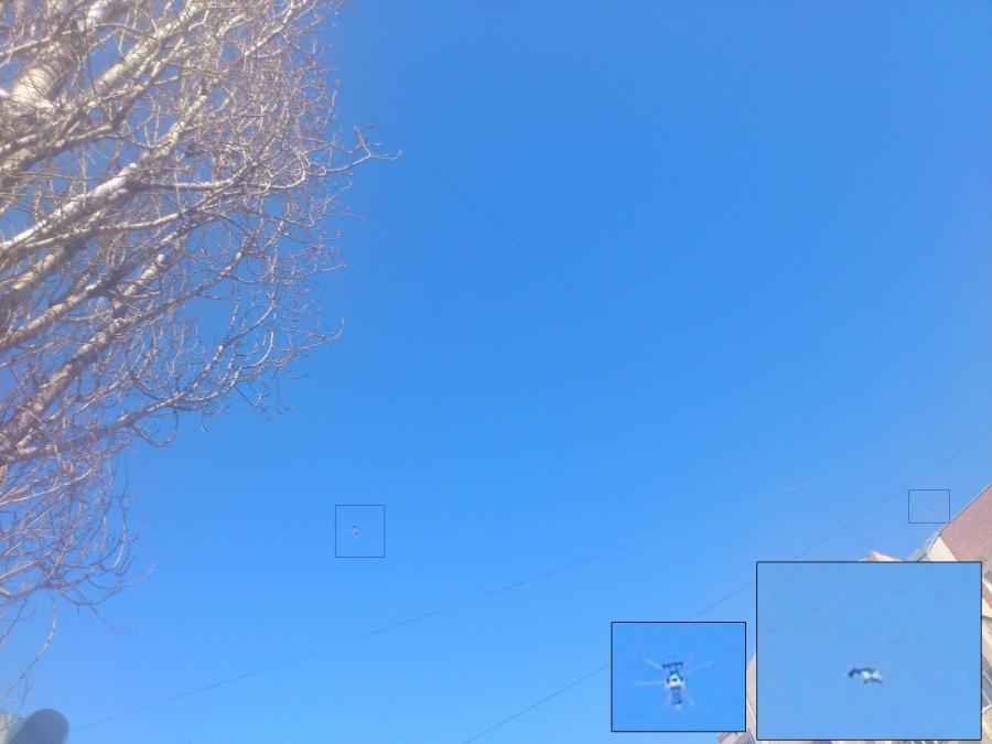 Вертолеты в небе