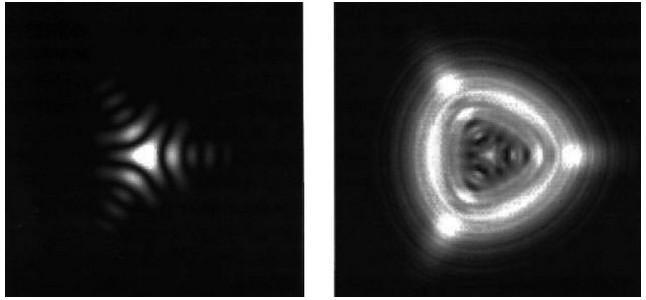 Расфокусированное la imagen de la estrella tiene no концентричную forma redondeada, y en lugar de ello, recuerda más a un cuadrado o un triángulo significa que el espejo del telescopio muy зажато en el borde. Traducido del servicio de «Yandex.Traductor»